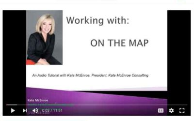 First a blog, now a YouTube video – see my On The Map tutorial.